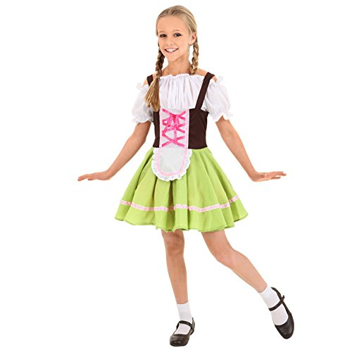 Lolanta Deutschland Oktoberfest Bier Festival Mädchen Cosplay Kostüm Halloween Fancy Dress (116/122)