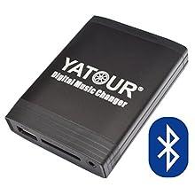 Yatour YTM06-RD4-BT Adaptateur de Musique Digitale USB, SD AUX Adapter Bluetooth kit Mains Libres pour Peugeot & Citroen