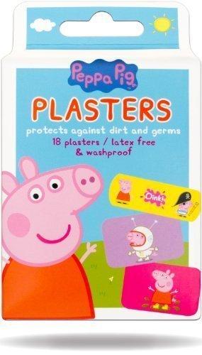 Image of Peppa Pig Peppa Pig Plasters - Pack of 18