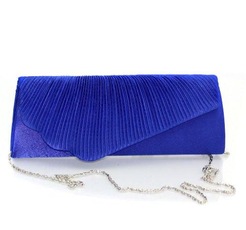 Fashion4Young, Poschette giorno donna (ML812-Blau)