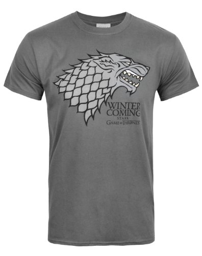 Official Game Of Thrones Stark Winter Is Coming Men's T-Shirt (M)