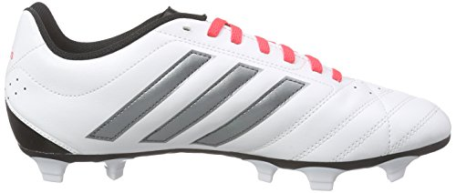 adidas Goletto V FG, Chaussures de Football Compétition Homme, Mehrfarbig Weiß (Ftwr White/Night Met. F13/Shock Red S16)