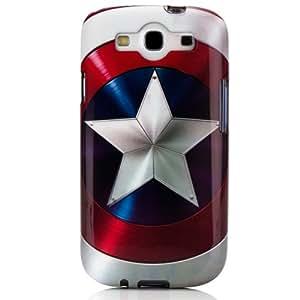 PDP IP1857CAPTAINARMOR Coque pour Samsung GS3 Marvel Captain America Shield