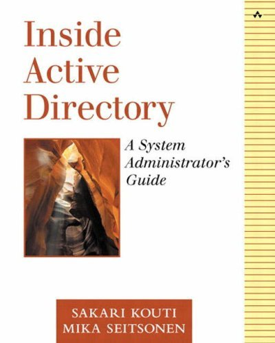 Active 2000-system (Windows 2000 Active Directory: A System Administrator's Guide by Sakari Kouti (2001-12-13))