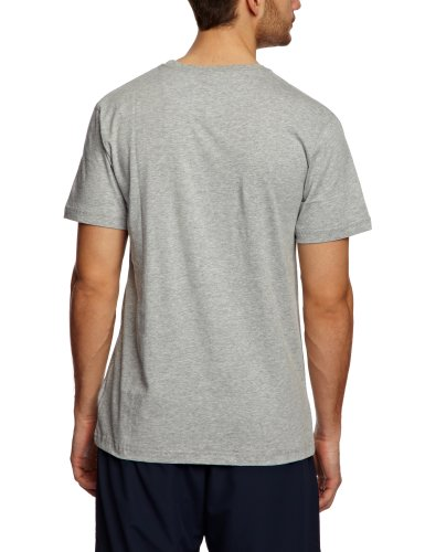 Canterbury Herren Bekleidung CCC Logo T Shirt Classic Marl/Flag Red