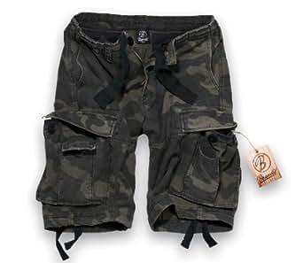 Brandit Vintage Classic Shorts S Dunkles Camouflage