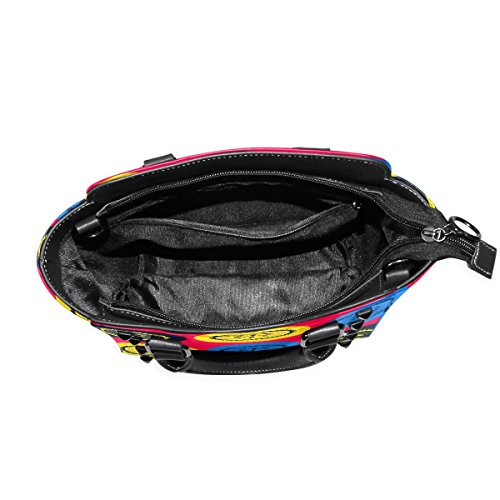 COOSUN, Borsa a mano donna multicolore Multicolour M Multicolor#2