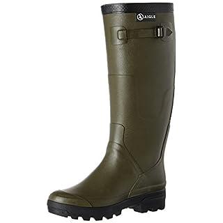 Aigle Men's Benyl M Wellington Boots,  Green (Bronze), 10.5 UK (45 EU)