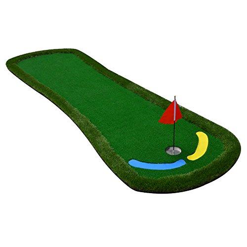 YJ Golf Mats Golf Mats Indoor Golf Putt Practice Mat Fairway Exercise  Blanket 300cm * 95cm- Buy Online in India at desertcart.in. ProductId :  63998346.