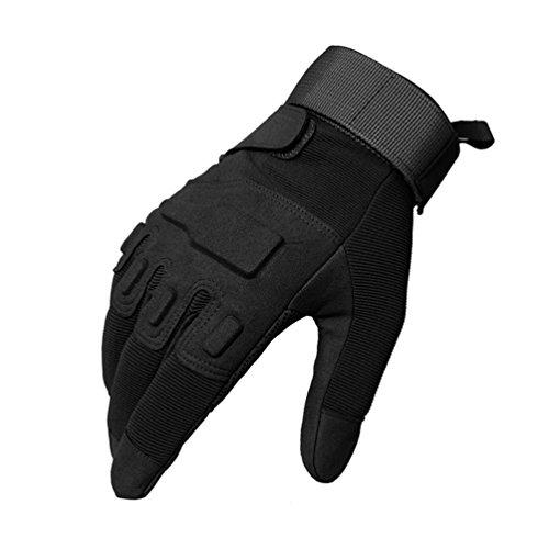 Tech Touch Vollfinger Handschuhe, Oziral Herren Motorrad Handschuhe Geeignet für Klettern Rennen Radfahren Wandern und andere Outdoor Aktivitäten (XL)