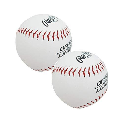 Rawlings 2 Stück Baseball Balls mit MLB Logo
