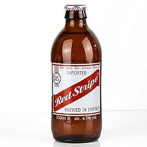 Red Stripe Jamaican Lager Beer 0,33l - Exotisches Bier aus Jamaika Go-beer.com