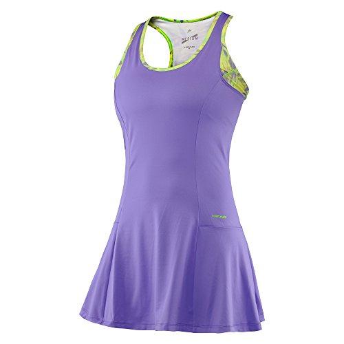 HEAD Damen Kleid Vision W Bella Dress, Violett, M