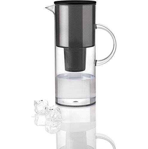 Stelton 1310-10 Wasserfilterkanne, 2 l, smoke -