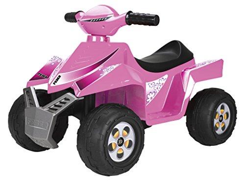 Feber - Quad Racy, 6 V, color rosa (Famosa 800011422)