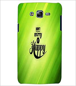 PrintDhaba Quote D-2682 Back Case Cover for SAMSUNG GALAXY J5 (Multi-Coloured)