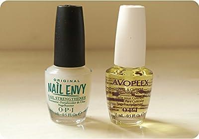 Opi Original Nail Envy 15ml + Opi Avoplex Nail & Cuticle Replenishing Oil 15ml Super Combo
