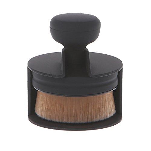 Fogun Beauté en forme de joint Make up Brush Soft Fur Oval Foundation Crème Pinceaux de poudre