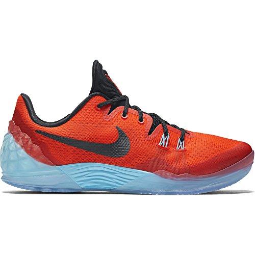 Nike Uomo Zoom Kobe Venomenon 5 scarpe da basket Arancione / Nero / Blu (Bright Crimson / Black-Td Pl Bl)