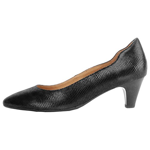 Caprice Womens 9-22410-29 Leather Shoes Black