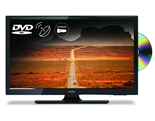 Cello C22230FT2 22� Full HD 12-volt LED TV with built in DVD Player and Freeview T2 HD � UK Made