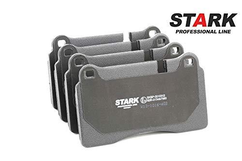 STARK SKBP-0010312 Bremsbelagsatz, Scheibenbremse Scheibenbremsbelage, Bremssteine, Bremsklötze