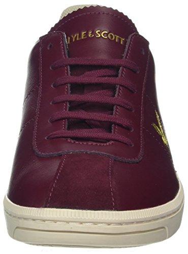 Lyle & Scott Herren Cooper Sneaker Red (Claret Jug)