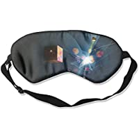 Sleep Eye Mask Abstract Geometry Cube Lightweight Soft Blindfold Adjustable Head Strap Eyeshade Travel Eyepatch E7 preisvergleich bei billige-tabletten.eu