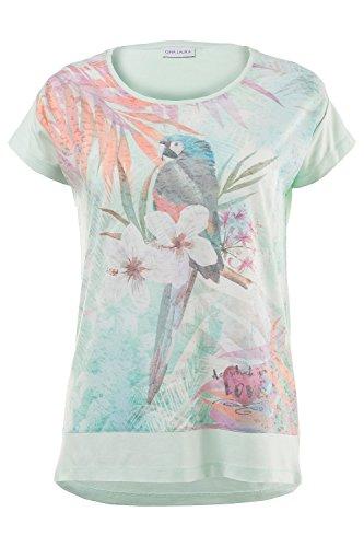 GINA_LAURA Damen Shirt 172943 hellminze
