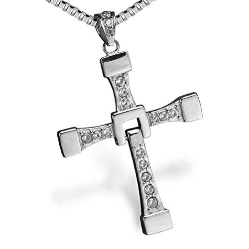 Fast and Furious Vin Diesel Dominic Toretto Kreuz Kette Halskette Schmuck Cross