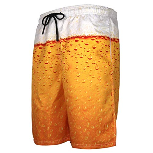 Cooljun Frauen Badeanzug Vertuschung Bikini Badeanzug Kleid Herren Sommer Badehose 3D Print Grafik Casual Athletic Beach Short Pants -