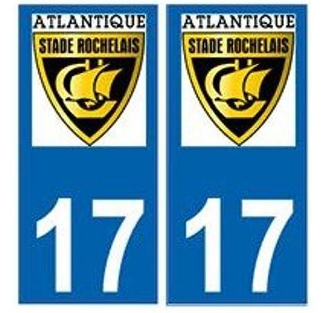 plusieurs tailles super prix Stickers autocollant Stade Rochelais RUGBY