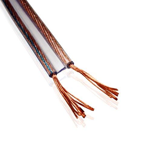 Van Damme 2 x 1,5 mm Shotgun Style Twin Interconnect Lautsprecherkabel 268-503-000 25 Meter / 25M 25 - Video Interconnect