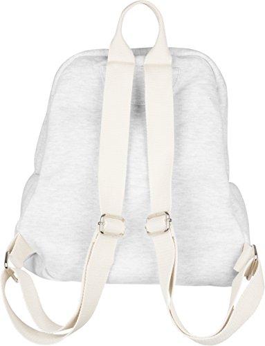 Urban Classics - Sweat Backpack, Zaini Unisex - Adulto Bianco Sporco (Offwhite Melange)