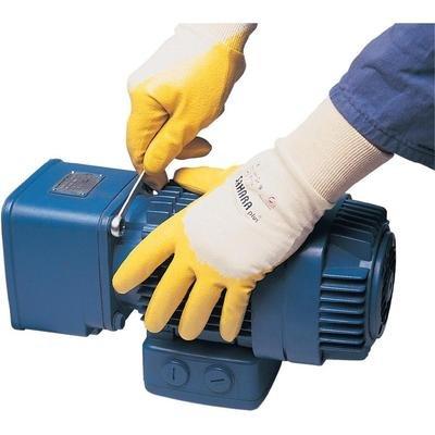 KCL Gants de protection 100 Tricot 100% coton avec revêtement en nitrile spécial EN 388 RISQUES MECANIQUES 3111 Taille 8