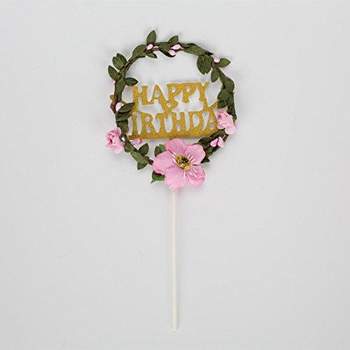 Geburtstag Dekoration Karte grün Leaf Kranz Love Backen Geburtstag Kuchen Plugin Happy Birthday Free