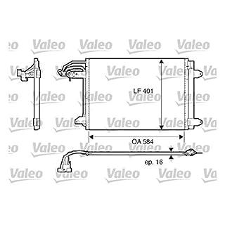 VALEO 817777 Kondensator, Klimaanlage