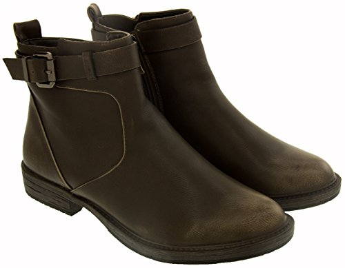 Betsy 948739/01 Femme Bottines En Similicuir Marron