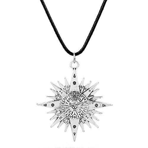 �r Herren Fashion Anime Schmuck Black Bulter Magic Array Logo Charm Pendant Halskette Für Unisex Aficionado Women Men Gift ()