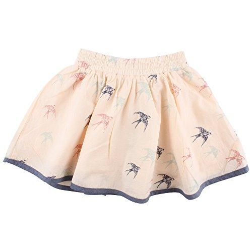 Small Rags Baby-Mädchen Rock Ella Skirt, Elfenbein (White Peach 02-39), 80 (Rock Elfenbein Mädchen)