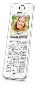 AVM FRITZ!Fon C4 Telefon (Farbdisplay, beleuchtete Tastatur) weiß