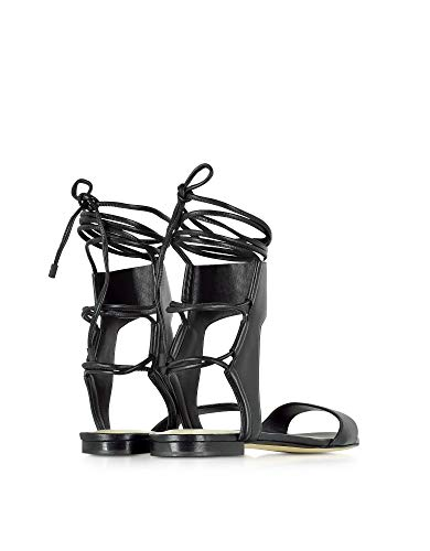 Phillip Lim Luxury Fashion | 3.1 Damen SHS6T207FBNBA010 Schwarz Sandalen | Jahreszeit Permanent