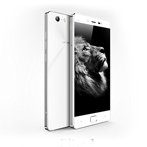 LEAGOO ELITE 1 Smartphone 4G LTE 5.0'' IPS MTK6753 Android 5.1 Octa Core 1.3Ghz 1920*1080 FHD 13.0MP 3GB RAM 32GB Dual SIM GPS WIFI Cellulare Bianco