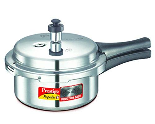 Prestige Popular Plus Induction Base Pressure Cooker, 2 Litres