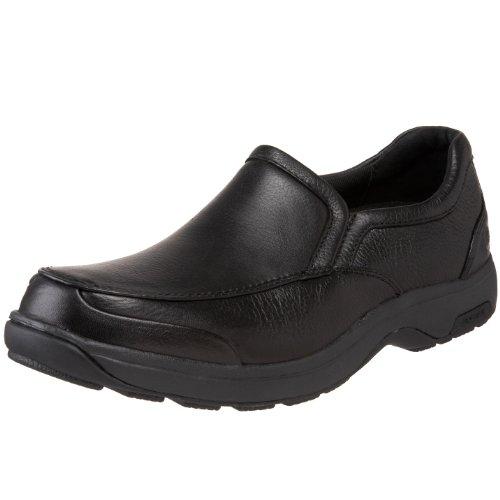Preisvergleich Produktbild Clarks Herren Wurster Plain Schwarz Leder Schnüren Sie Sich Oben Schuhe 40.5