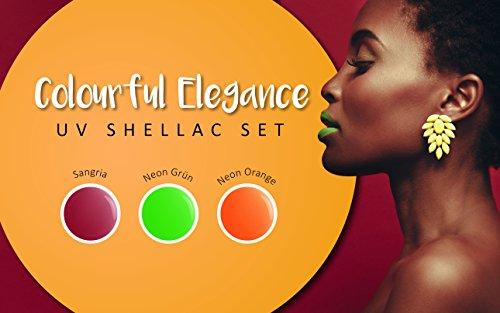 99Nails UV Shellac Juego–Colourful Elegance