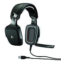 Logitech G35 - Auriculares Gaming de diadema cerrados (USB, con micrófono), negro