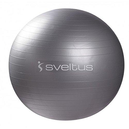 Sveltus-Fitball da ginnastica, grigio, 65 cm
