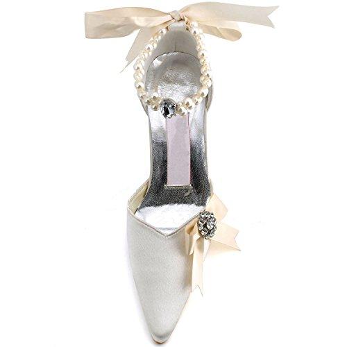 5 Sposa 6 Minitoo Avorio Tacco Tendenza centimetri Scarpe Da Donna Rnqnxw8C