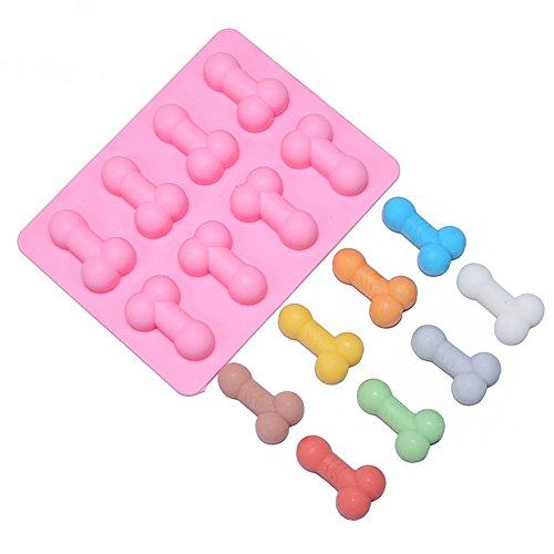 on Schokolade Kuchen Backen Seife Form Pink (Mold-A) (Diamant Eis-würfel-behälter)